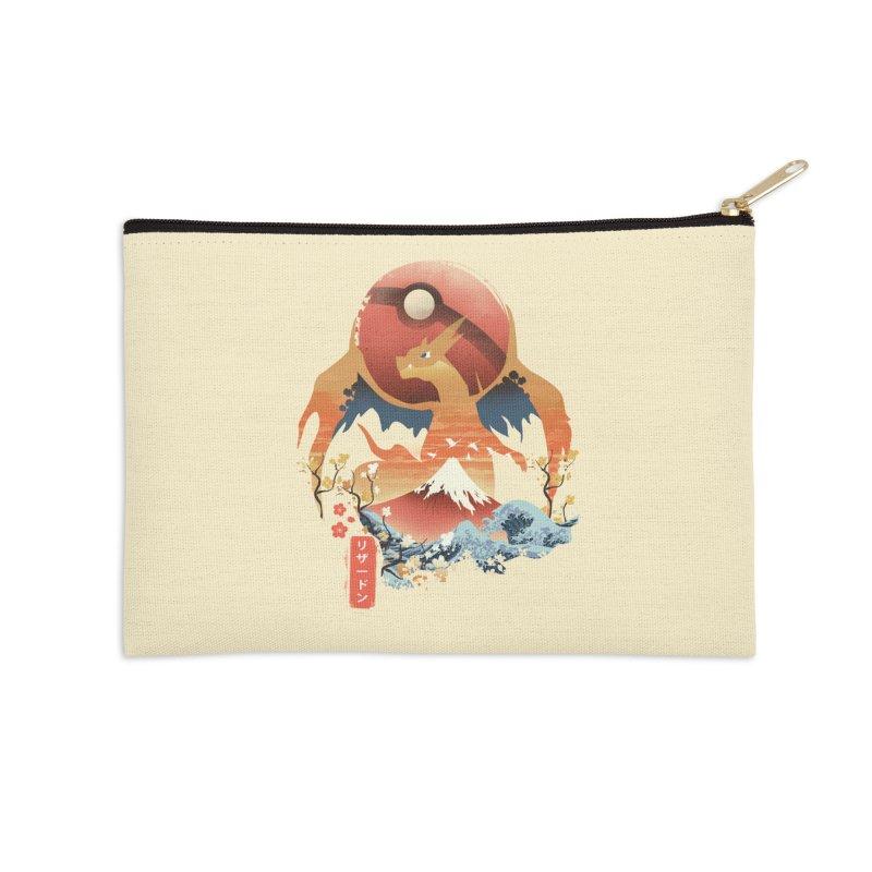 Flame Ninja Accessories Zip Pouch by dandingeroz's Artist Shop
