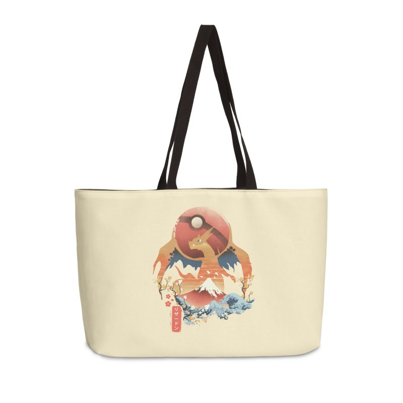 Flame Ninja Accessories Weekender Bag Bag by dandingeroz's Artist Shop