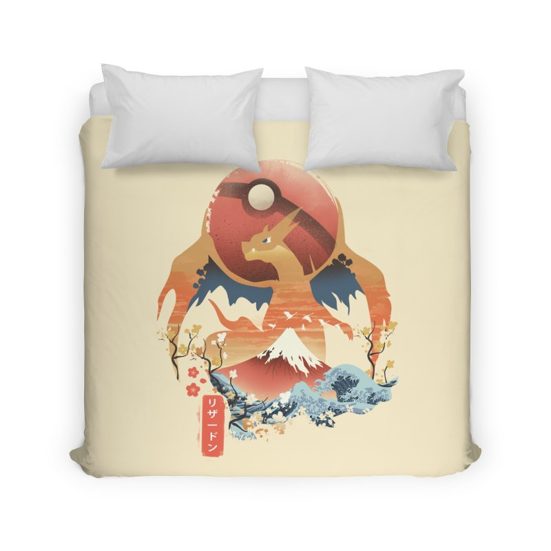 Flame Ninja Home Duvet by dandingeroz's Artist Shop