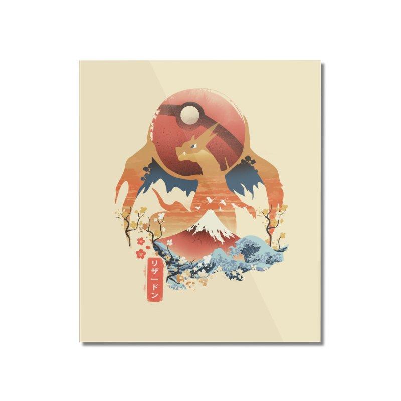 Flame Ninja Home Mounted Acrylic Print by dandingeroz's Artist Shop
