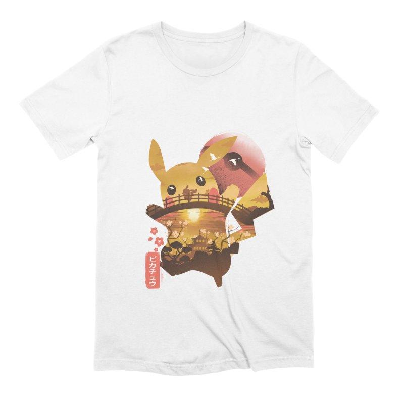 Electric Ninja Men's Extra Soft T-Shirt by dandingeroz's Artist Shop