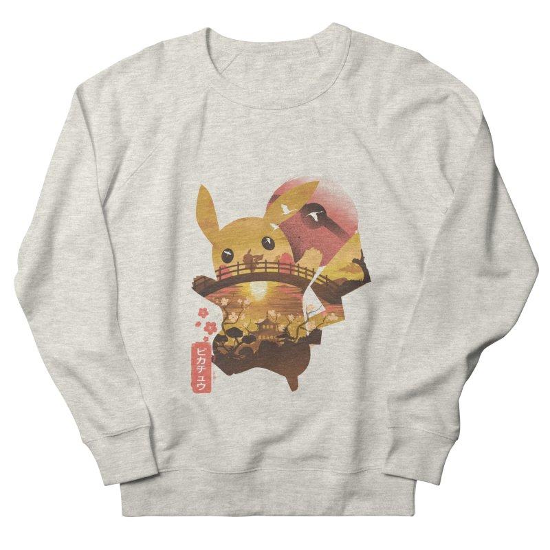 Electric Ninja Men's French Terry Sweatshirt by dandingeroz's Artist Shop