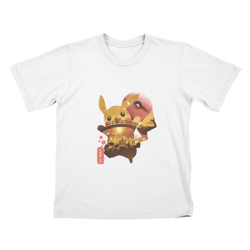 Electric Ninja Kids T-Shirt by dandingeroz's Artist Shop