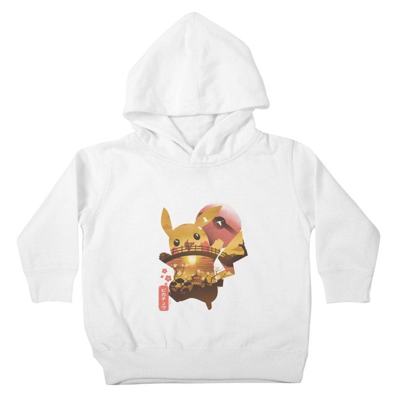 Electric Ninja Kids Toddler Pullover Hoody by dandingeroz's Artist Shop