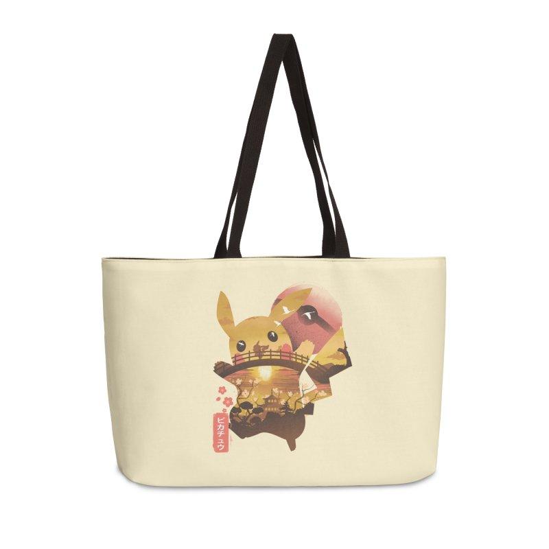 Electric Ninja Accessories Weekender Bag Bag by dandingeroz's Artist Shop