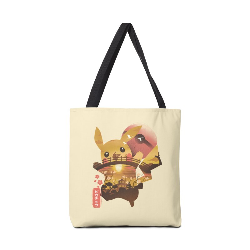 Electric Ninja Accessories Tote Bag Bag by dandingeroz's Artist Shop