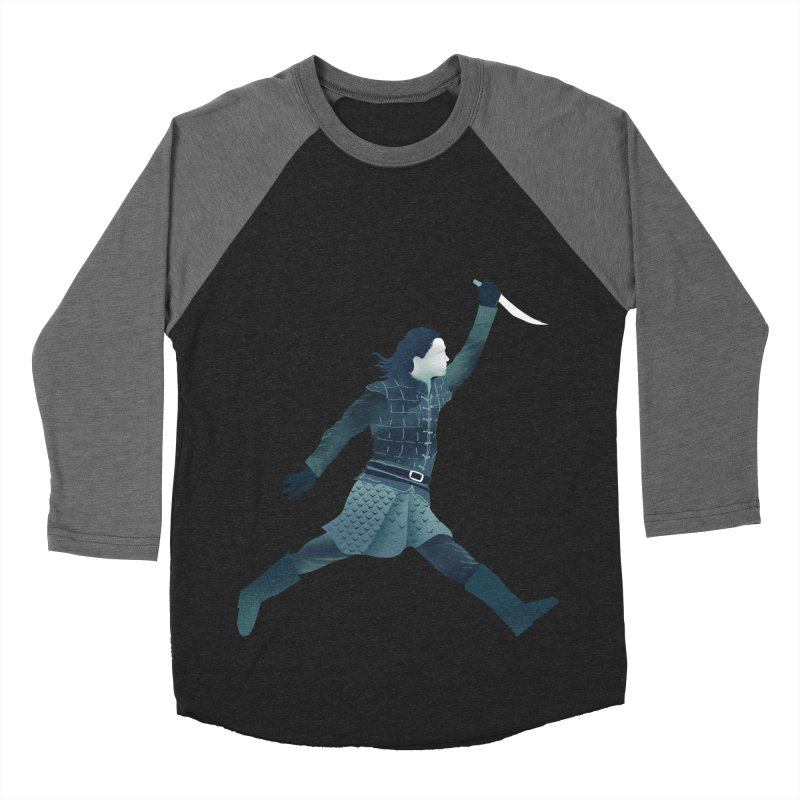 Air Arya Men's Baseball Triblend Longsleeve T-Shirt by dandingeroz's Artist Shop