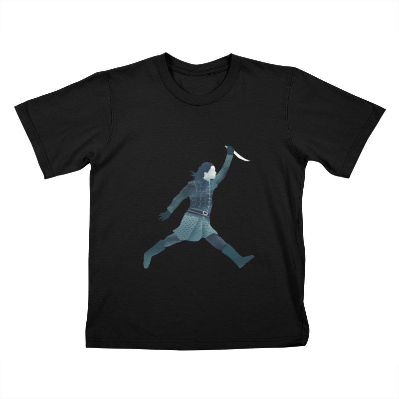 Air Arya Kids T-Shirt by dandingeroz's Artist Shop