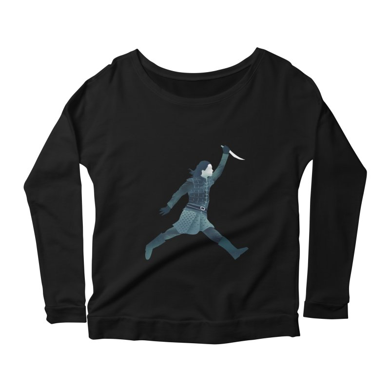 Air Arya Women's Scoop Neck Longsleeve T-Shirt by dandingeroz's Artist Shop