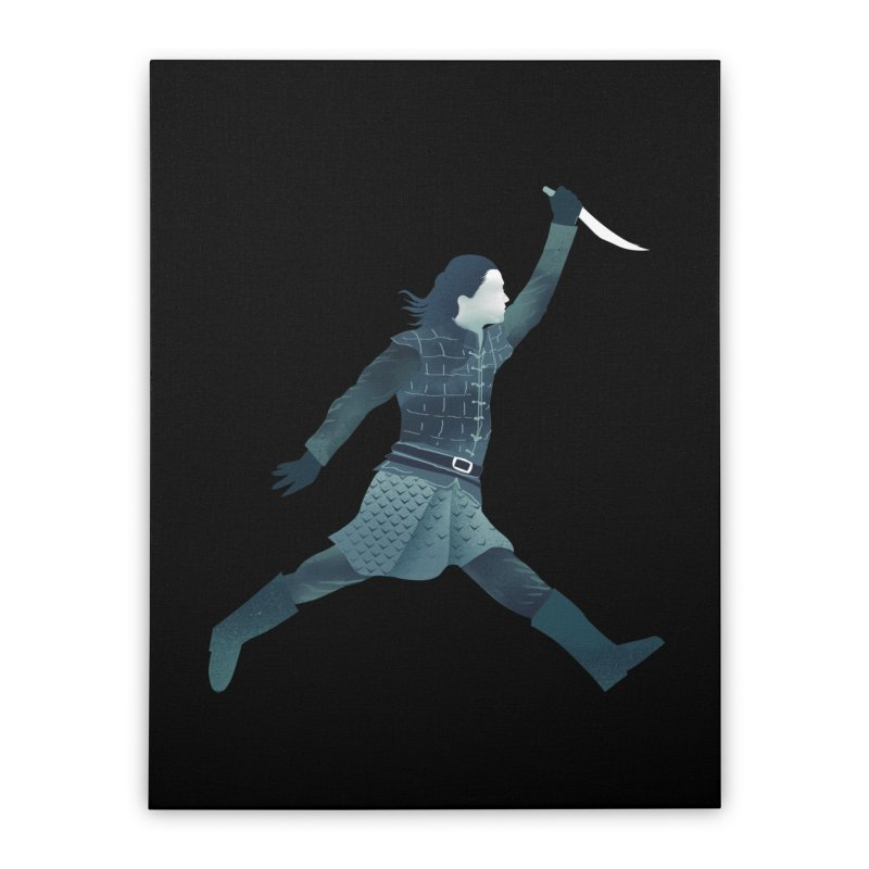 Air Arya Home Stretched Canvas by dandingeroz's Artist Shop