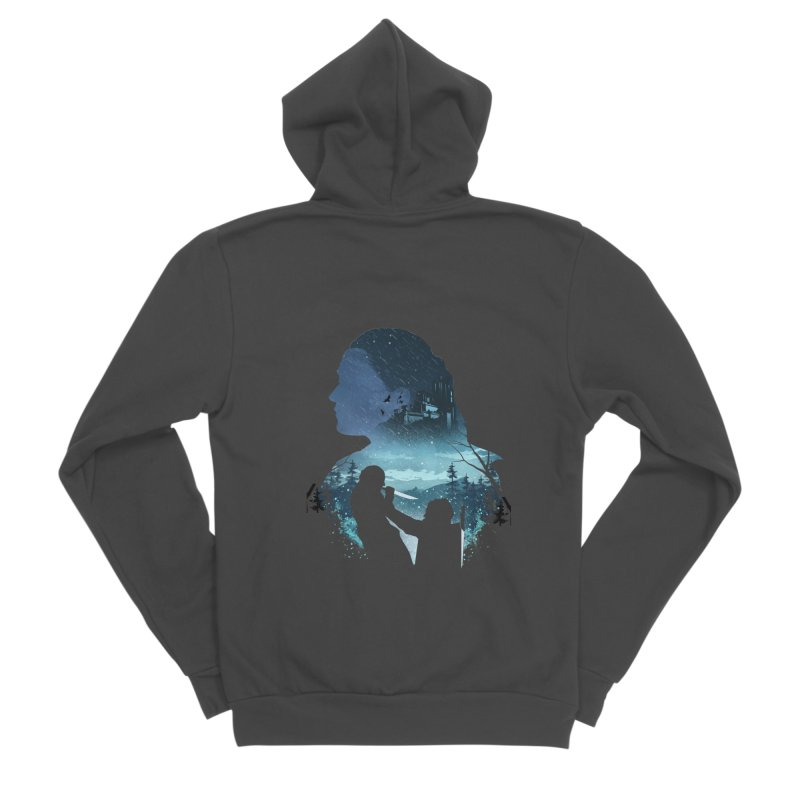 The Night King Slayer Men's Sponge Fleece Zip-Up Hoody by dandingeroz's Artist Shop