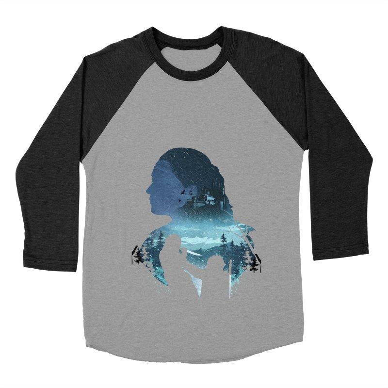 The Night King Slayer Women's Baseball Triblend Longsleeve T-Shirt by dandingeroz's Artist Shop