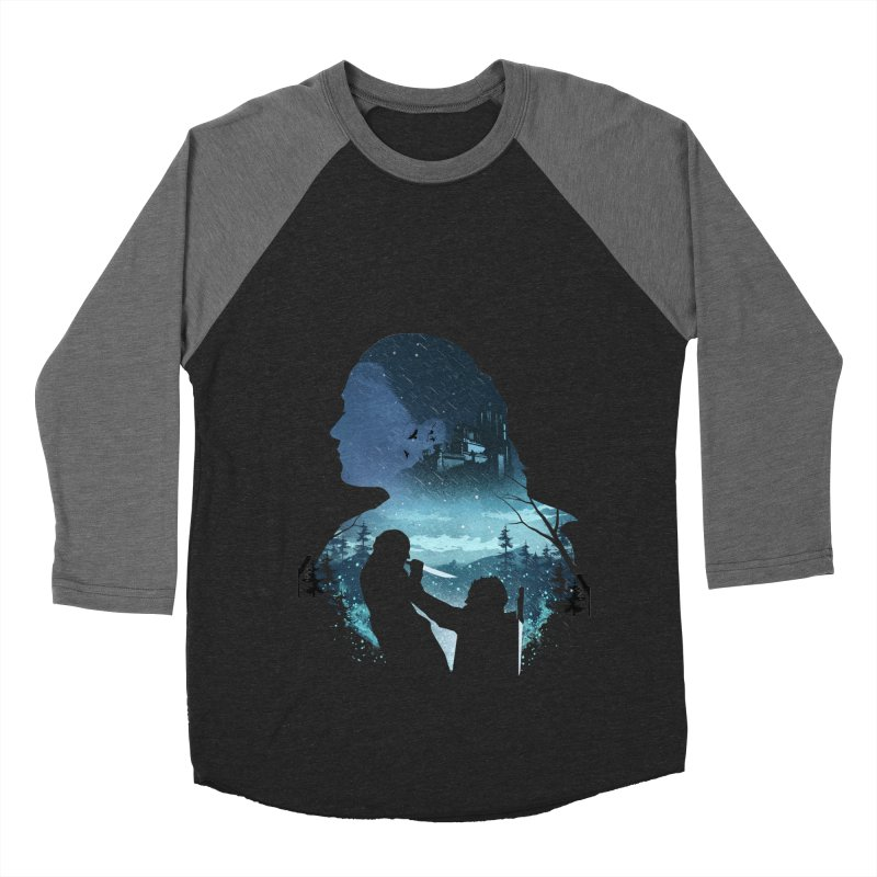 The Night King Slayer Men's Baseball Triblend Longsleeve T-Shirt by dandingeroz's Artist Shop