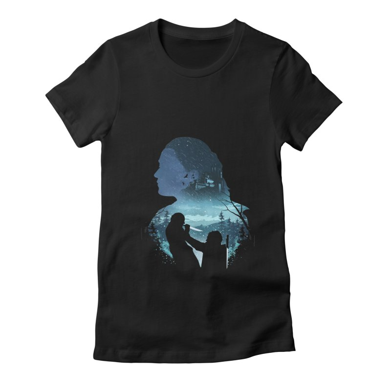 The Night King Slayer Women's Fitted T-Shirt by dandingeroz's Artist Shop