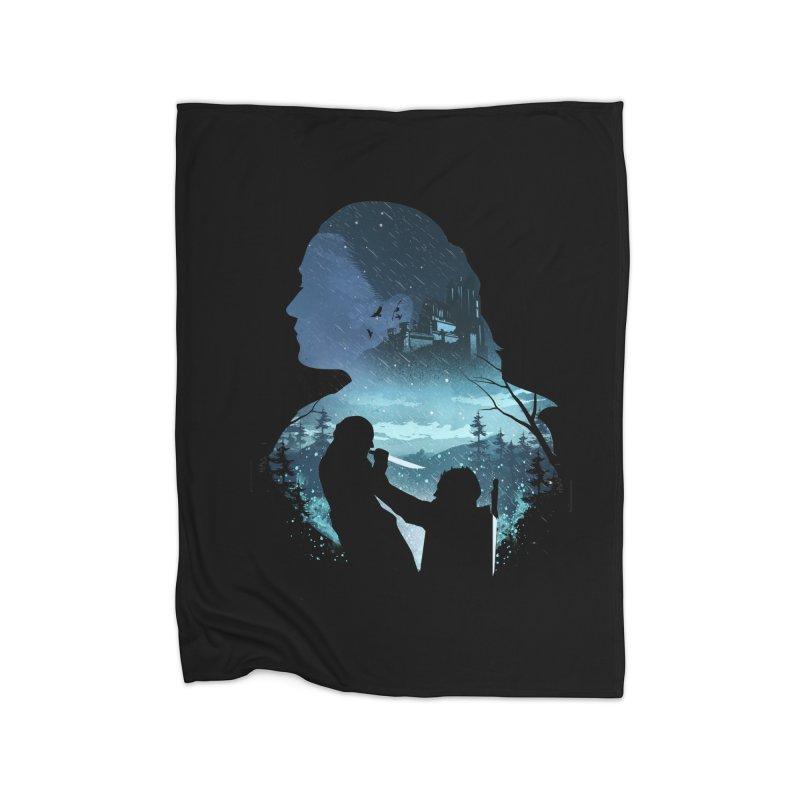 The Night King Slayer Home Fleece Blanket Blanket by dandingeroz's Artist Shop