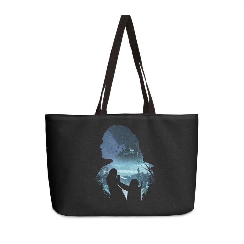 The Night King Slayer Accessories Weekender Bag Bag by dandingeroz's Artist Shop