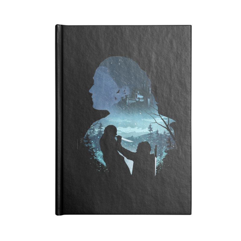 The Night King Slayer Accessories Lined Journal Notebook by dandingeroz's Artist Shop