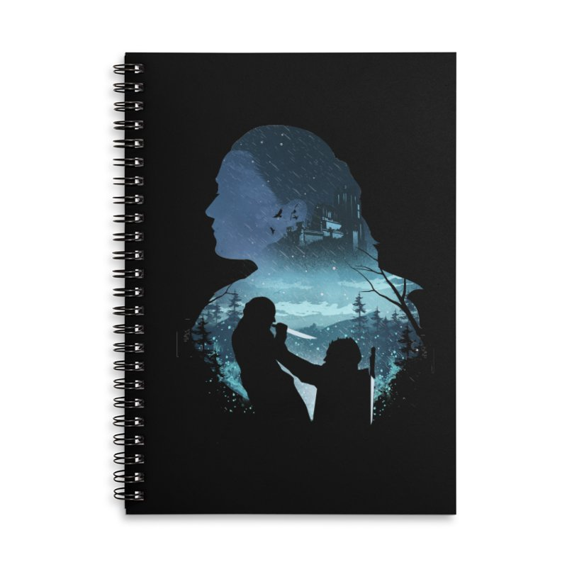 The Night King Slayer Accessories Lined Spiral Notebook by dandingeroz's Artist Shop