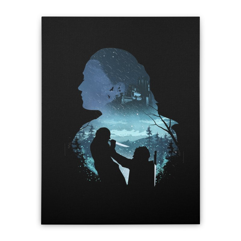 The Night King Slayer Home Stretched Canvas by dandingeroz's Artist Shop
