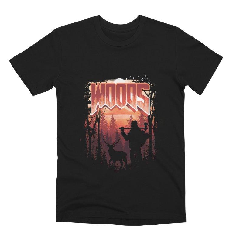 Woods Men's Premium T-Shirt by dandingeroz's Artist Shop