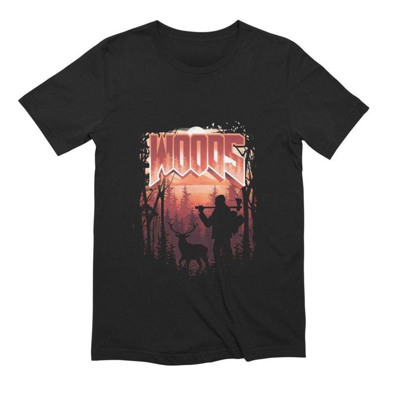 Woods Men's Extra Soft T-Shirt by dandingeroz's Artist Shop