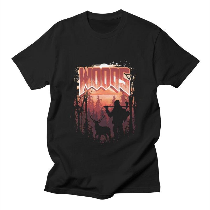 Woods Women's Regular Unisex T-Shirt by dandingeroz's Artist Shop