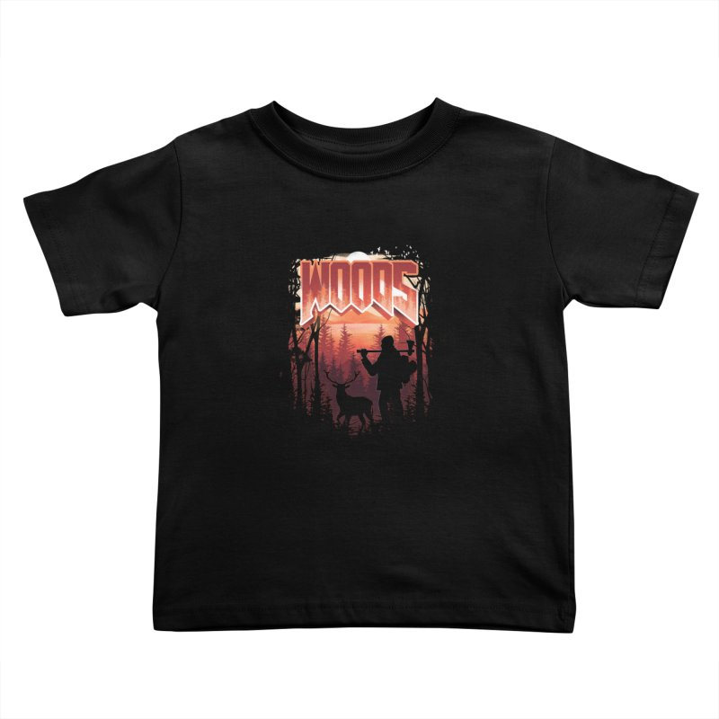 Woods Kids Toddler T-Shirt by dandingeroz's Artist Shop