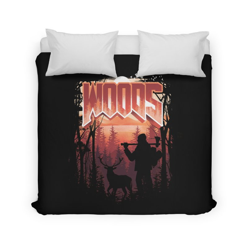 Woods Home Duvet by dandingeroz's Artist Shop
