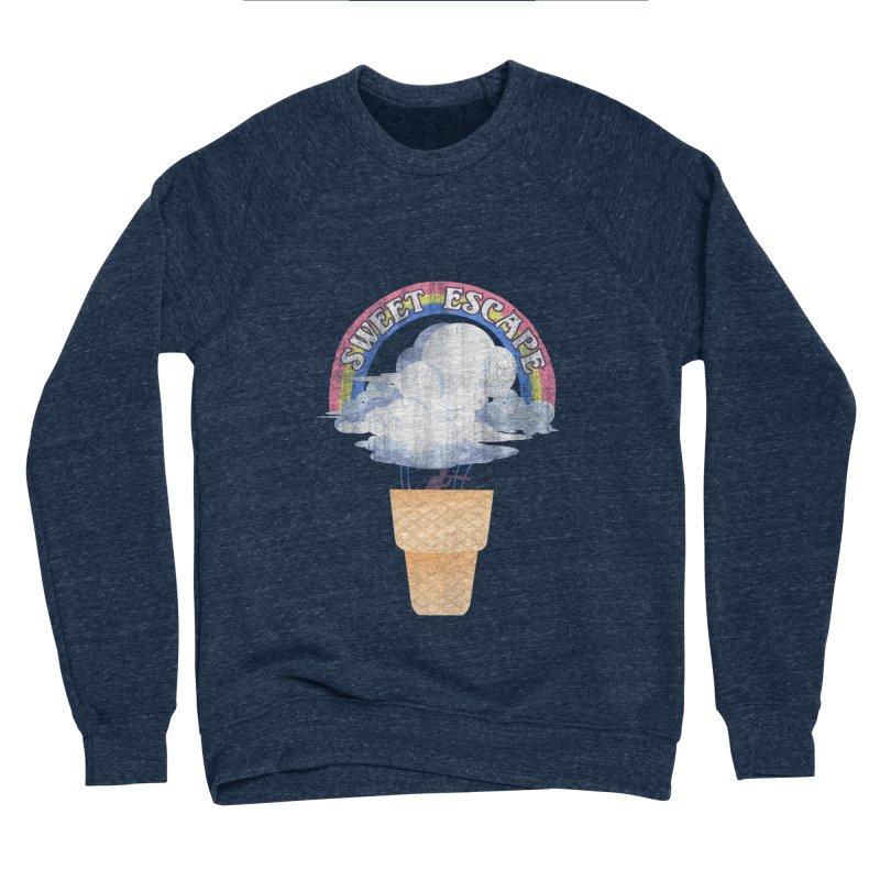 Sweet Escape Men's Sponge Fleece Sweatshirt by dandingeroz's Artist Shop