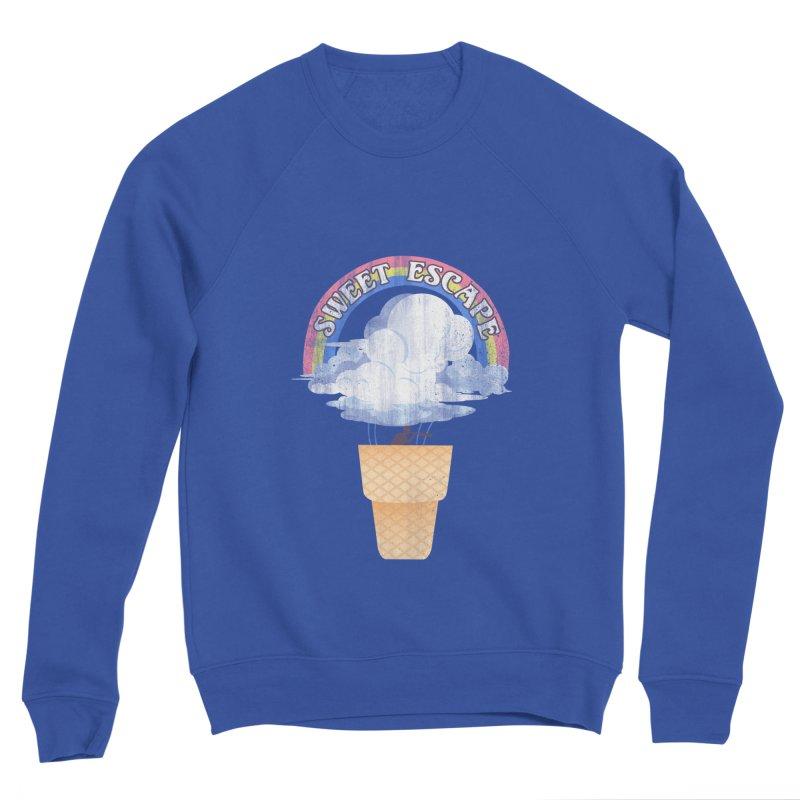 Sweet Escape Women's Sponge Fleece Sweatshirt by dandingeroz's Artist Shop