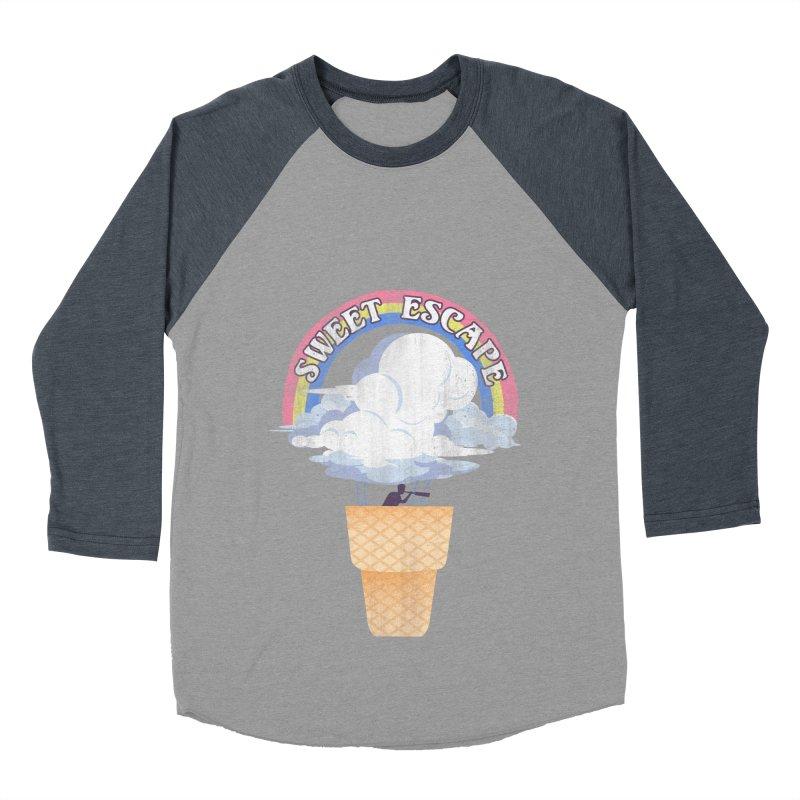 Sweet Escape Women's Baseball Triblend Longsleeve T-Shirt by dandingeroz's Artist Shop