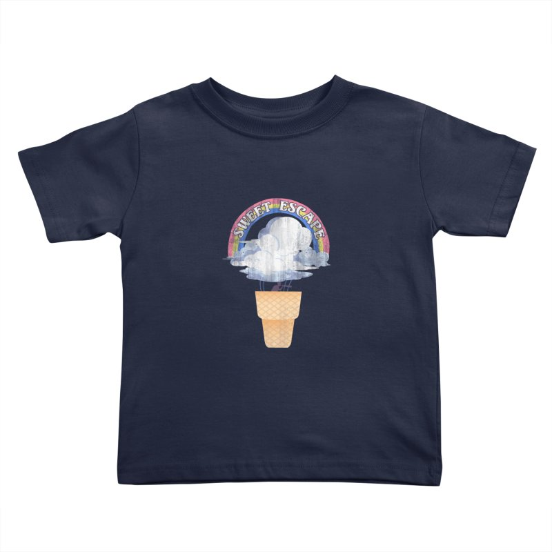 Sweet Escape Kids Toddler T-Shirt by dandingeroz's Artist Shop