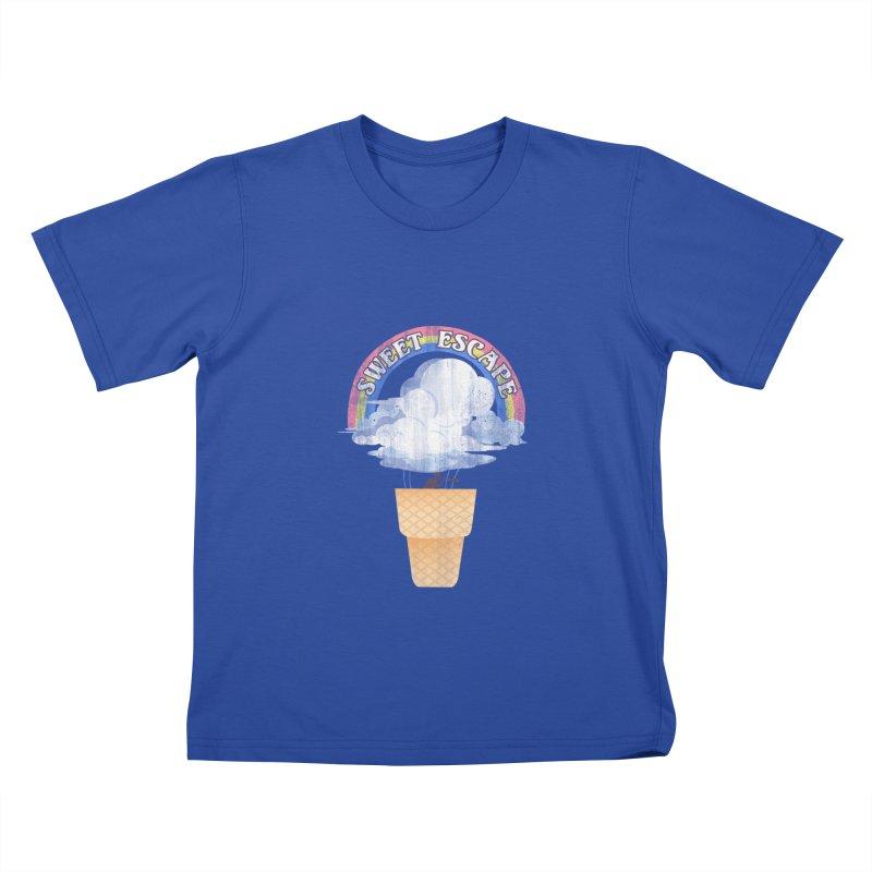 Sweet Escape Kids T-Shirt by dandingeroz's Artist Shop
