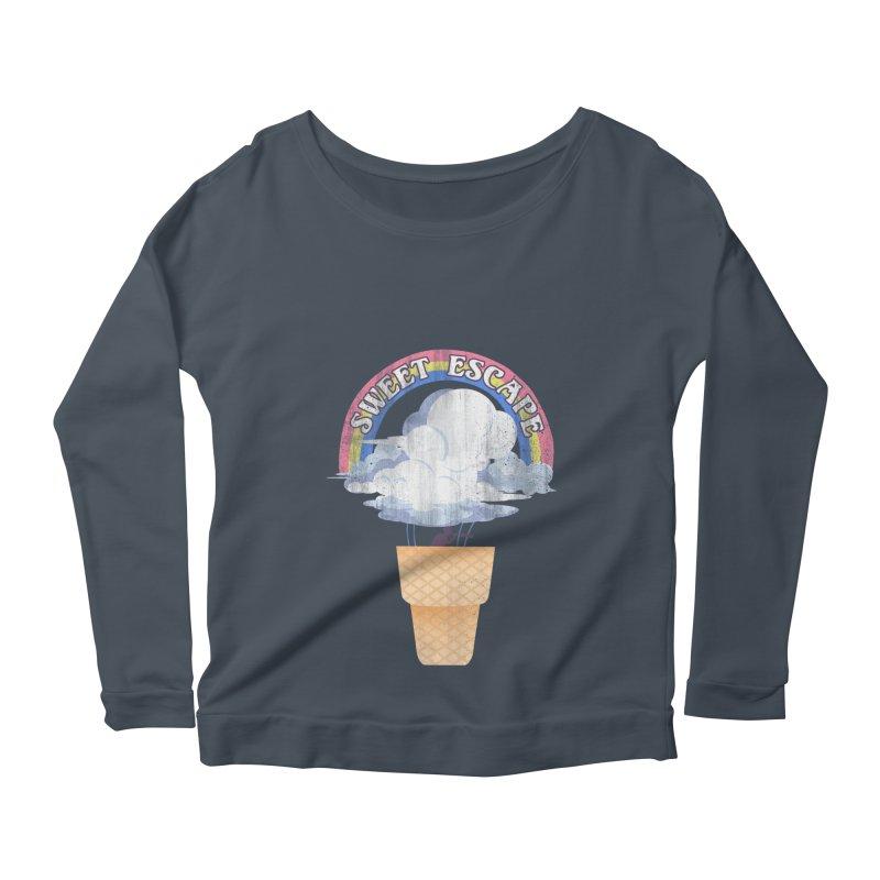 Sweet Escape Women's Scoop Neck Longsleeve T-Shirt by dandingeroz's Artist Shop