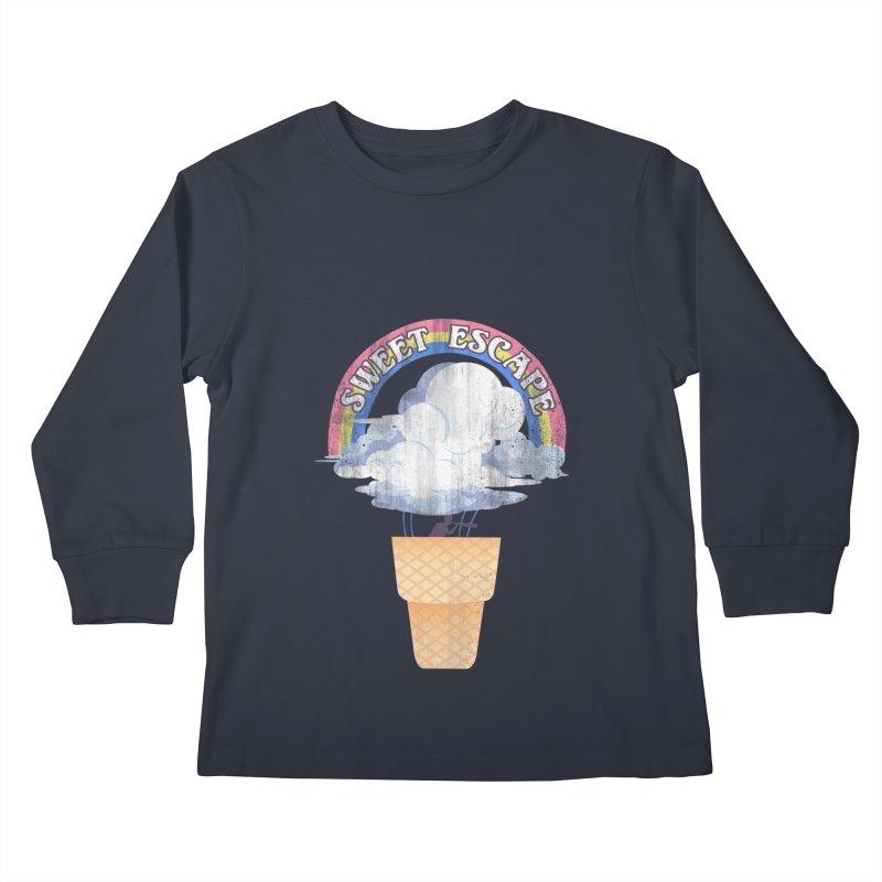 Sweet Escape Kids Longsleeve T-Shirt by dandingeroz's Artist Shop