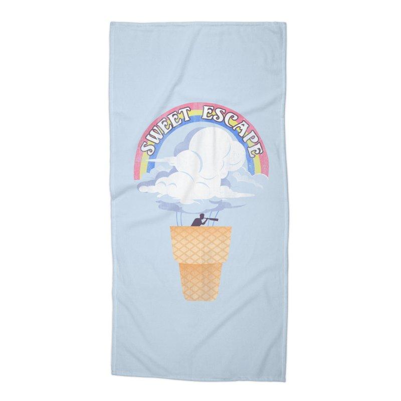 Sweet Escape Accessories Beach Towel by dandingeroz's Artist Shop