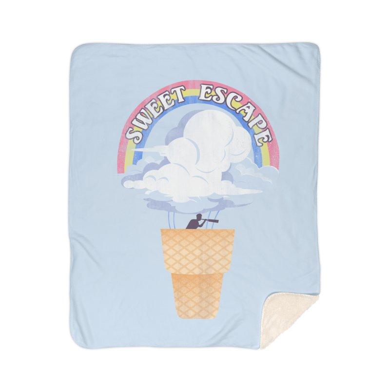 Sweet Escape Home Sherpa Blanket Blanket by dandingeroz's Artist Shop