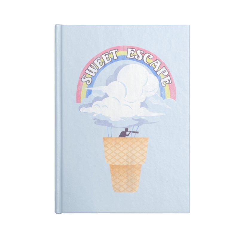 Sweet Escape Accessories Lined Journal Notebook by dandingeroz's Artist Shop