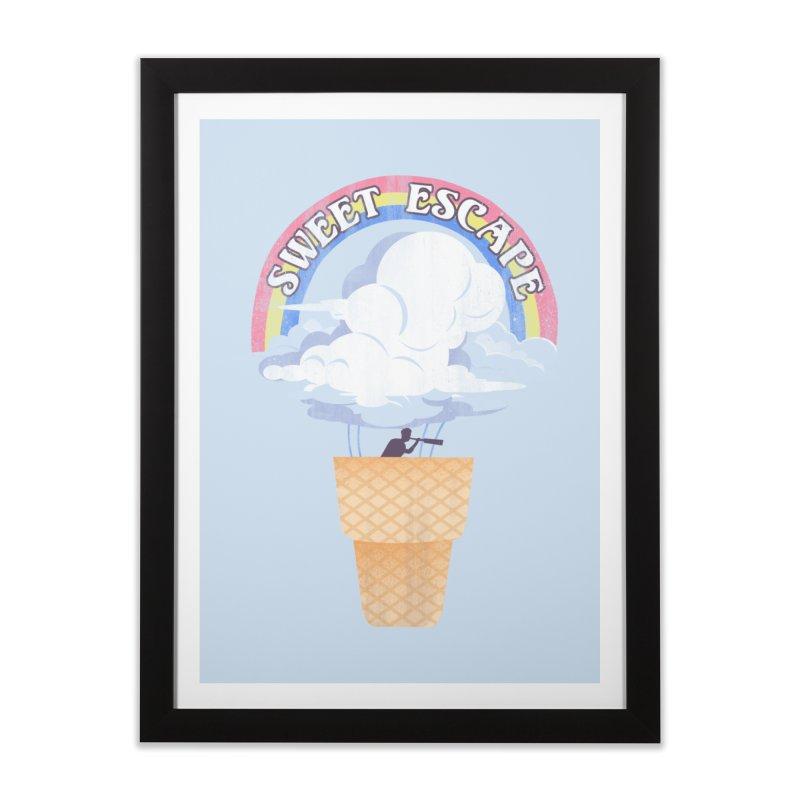 Sweet Escape Home Framed Fine Art Print by dandingeroz's Artist Shop