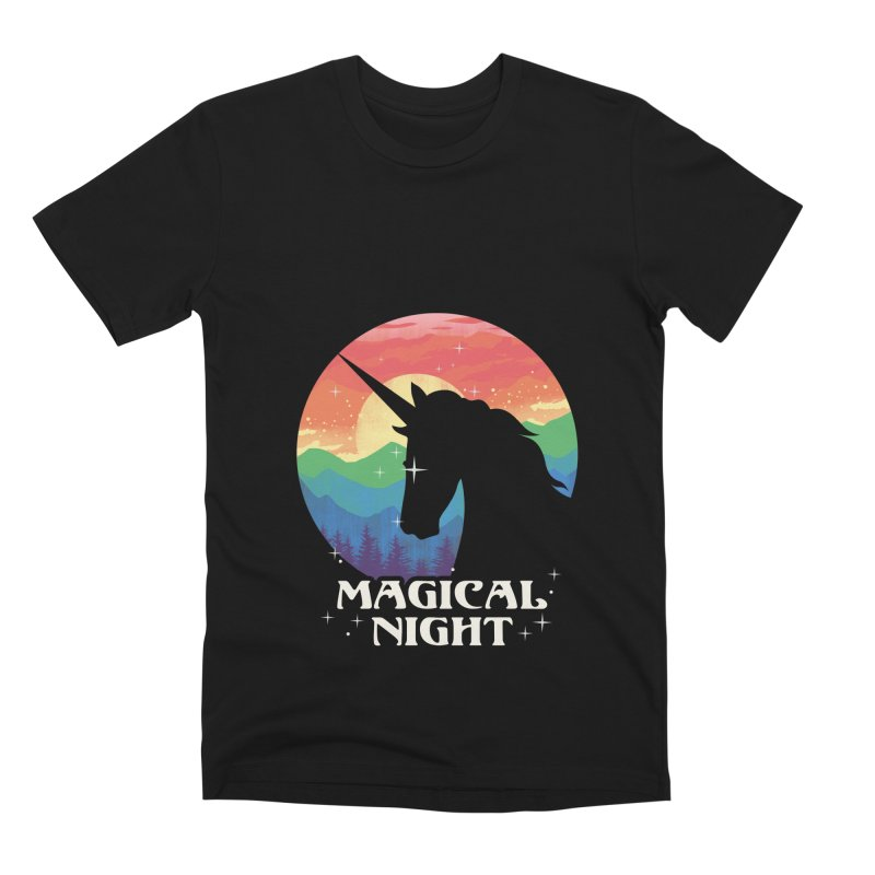 Magical Night Men's Premium T-Shirt by dandingeroz's Artist Shop