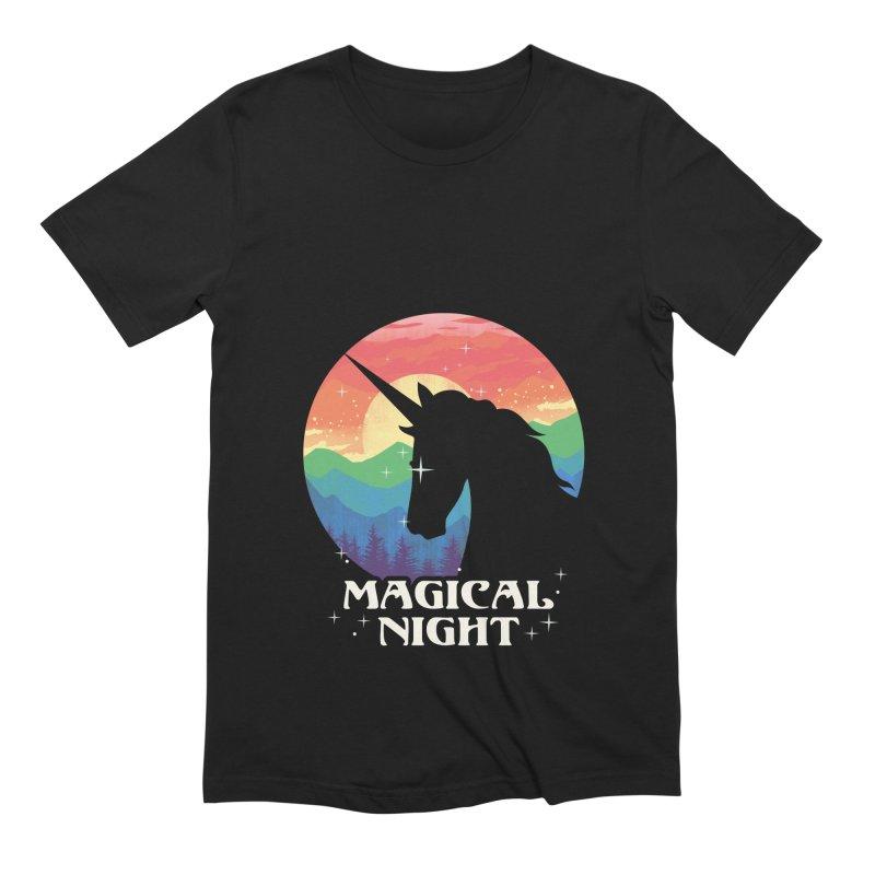 Magical Night Men's Extra Soft T-Shirt by dandingeroz's Artist Shop