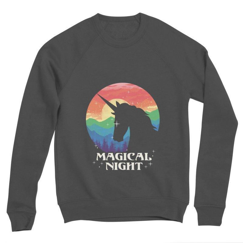 Magical Night Men's Sponge Fleece Sweatshirt by dandingeroz's Artist Shop