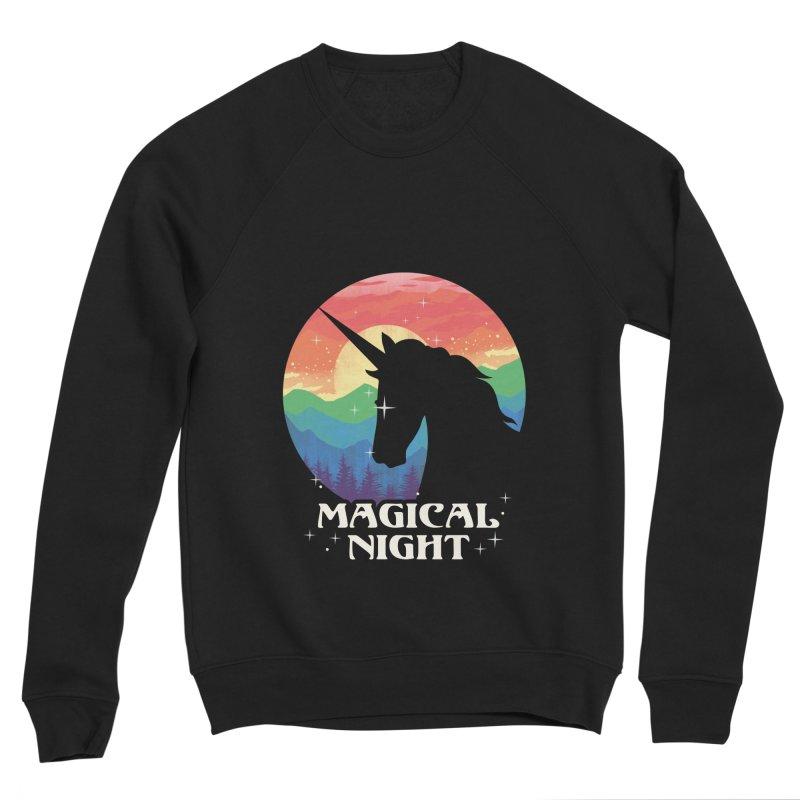 Magical Night Women's Sponge Fleece Sweatshirt by dandingeroz's Artist Shop