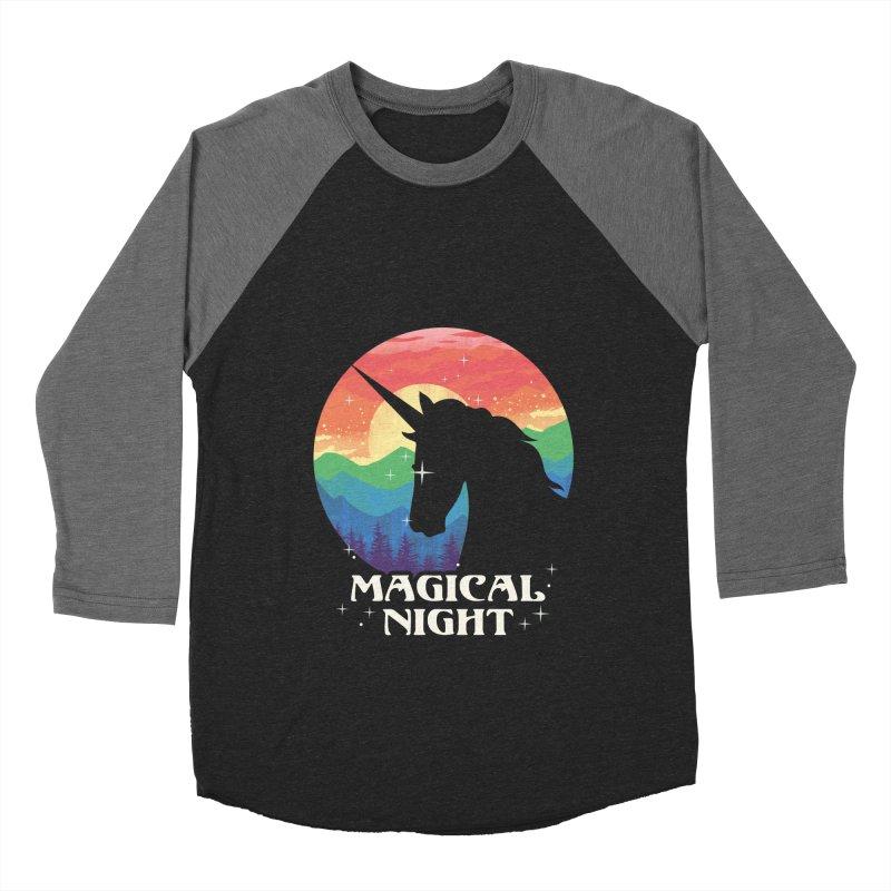 Magical Night Women's Longsleeve T-Shirt by dandingeroz's Artist Shop