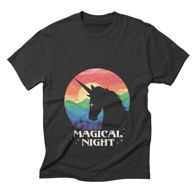 Magical Night Men's Triblend T-Shirt by dandingeroz's Artist Shop