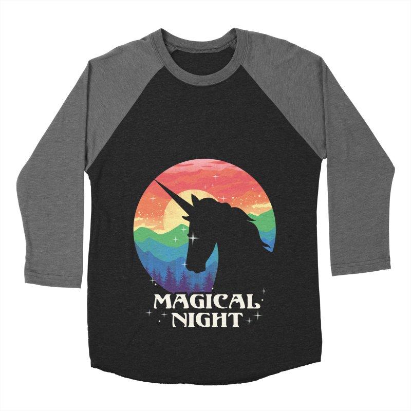 Magical Night Women's Baseball Triblend Longsleeve T-Shirt by dandingeroz's Artist Shop
