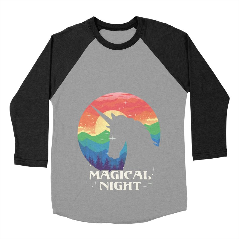 Magical Night Men's Baseball Triblend Longsleeve T-Shirt by dandingeroz's Artist Shop