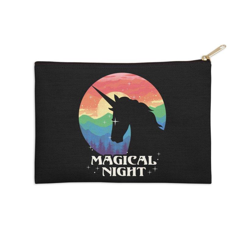 Magical Night Accessories Zip Pouch by dandingeroz's Artist Shop