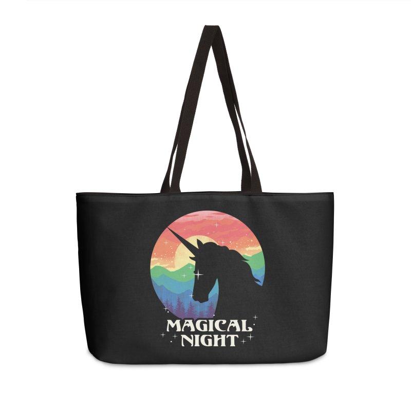Magical Night Accessories Weekender Bag Bag by dandingeroz's Artist Shop