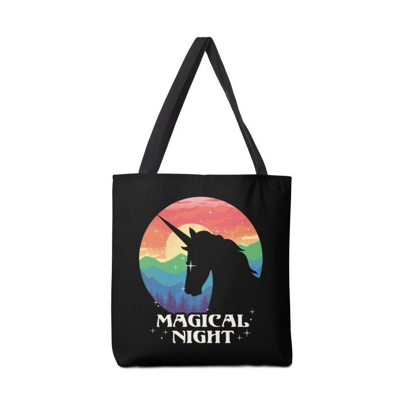 Magical Night Accessories Tote Bag Bag by dandingeroz's Artist Shop